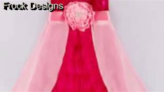 Frock Design-Latest Baby Frock-Patterns-Baby Girls