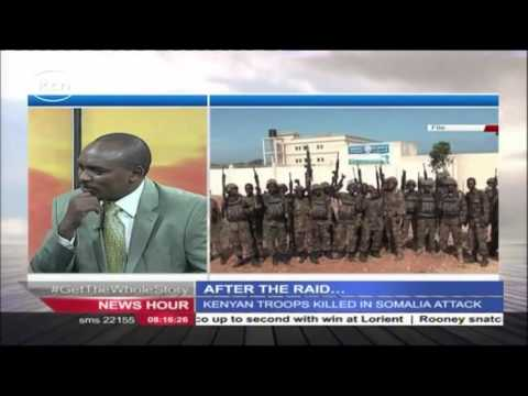 AFTER THE RAID: KDF rolls heavy machines in Somalia in search of captured soldiers