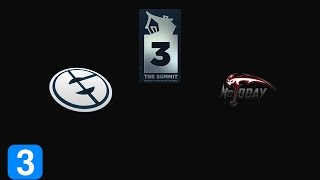 Highlights Evil Geniuses vs Not Today Game 2- The Summit 3