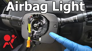 How to Replace a Clock Spring (airbag light & horn not working)