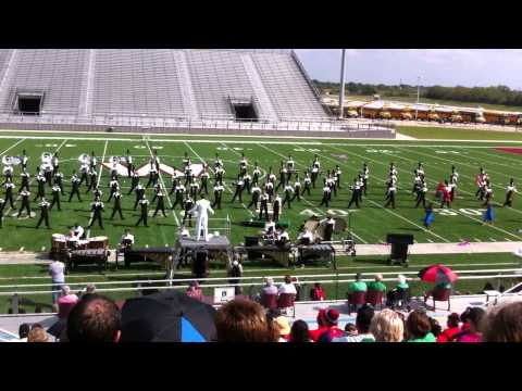 Foster High School Band's winning performance at Area Marching Band Competition, Waller, Tx