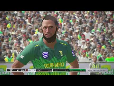 New Zealand Vs. South Africa||25th Match World Cup 2019||Live Cricket Score|| Ashes Cricket Gameplay