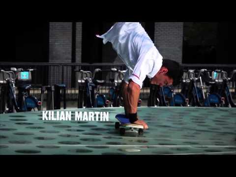 Concrete Circus - Kilian Martin Skateboarding Tricks (IndiePix...