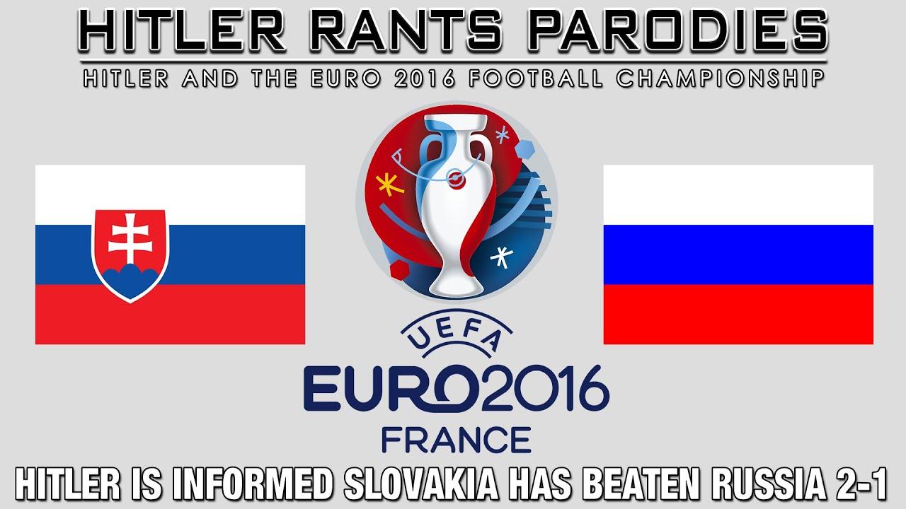 Hitler is informed Slovakia has beaten Russia 2-1