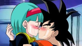 Xxx hot anime love kiss dragon ball goku vs bulma