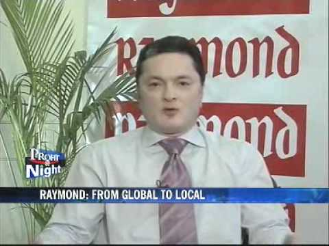 Raymond's big expansion plans