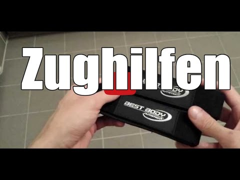 Best Body Nutrition Handschuhe Power Best Body Nutrition Zughilfen