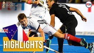 New Zealand v France | Odisha Men's Hockey World Cup Bhubaneswar 2018 | HIGHLIGHTS