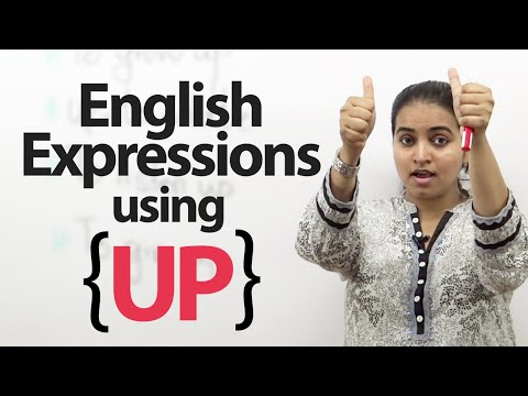 Learn English Expressions Using up - Free English Lessons video