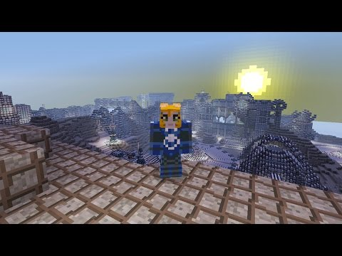 Minecraft Xbox Mars Base Hunger Games