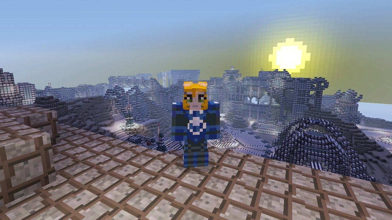 Minecraft Xbox Mars Base