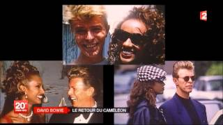 David Bowie - France 2 - The return of the chameleon - New album 2013