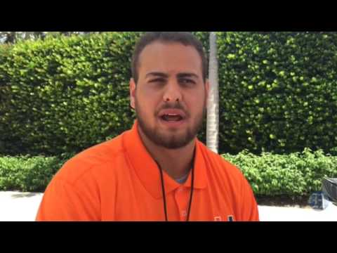 UM Hurricanes Football Media Day: Freshman OL Bar Milo