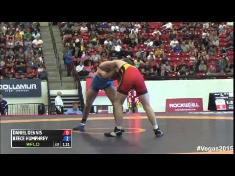 61 kg SF - Daniel Dennis (TMWC) vs Reece Humphrey (NYAC)
