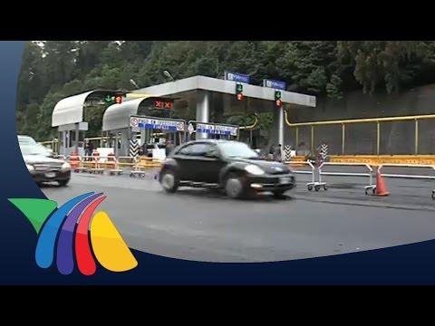 Vuelven normalistas a tomar la caseta México - Toluca | Noticias del Estado de México