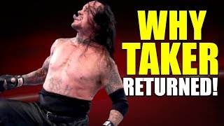 Real Reason Why The Undertaker RETURNED And ATTACKED Shane McMahon To SAVE Roman On Raw REVEALED!