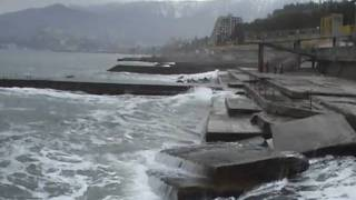 Crimea Massandra Hotel Yalta Beach Part 2