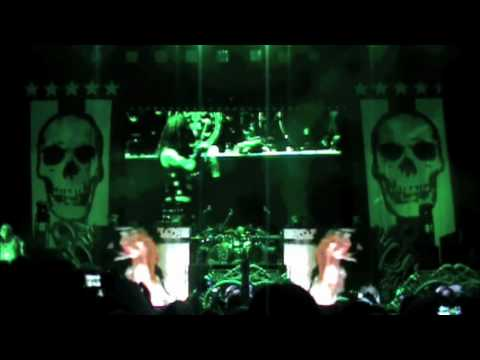 Rob Zombie Living Dead Girl Live Mayhem 2010 Albuquerque