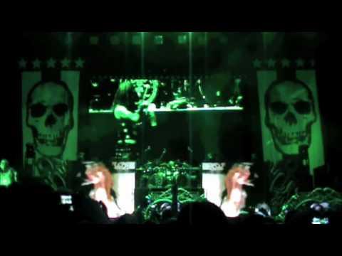 Rob Zombie Living Dead Girl Live Mayhem 2010 Albuquerque
