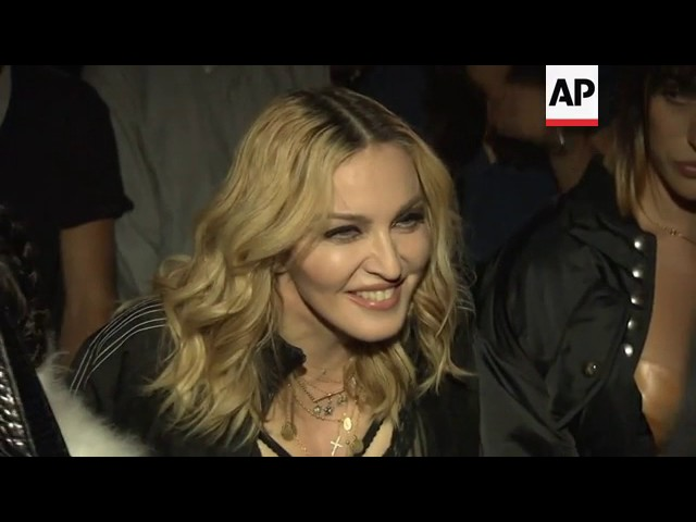 "Madonna: Trump presidency is like ""being stuck in a nightmare"""