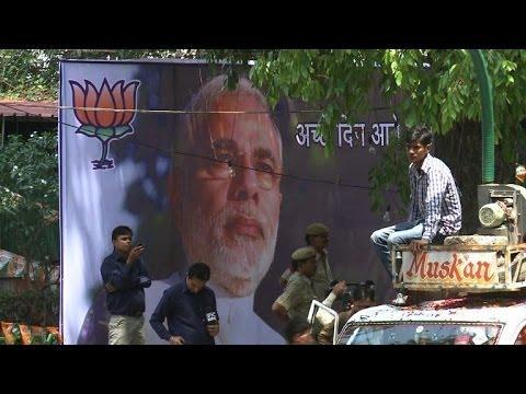 Modi eyes 'India's century' after landslide victory