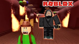 SCARY CAMPING WITH BALDI | Roblox : House Party