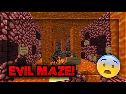 THE MAZE THAT LEADS YOU TO THE NETHERWORLD...... LITERALLY!
