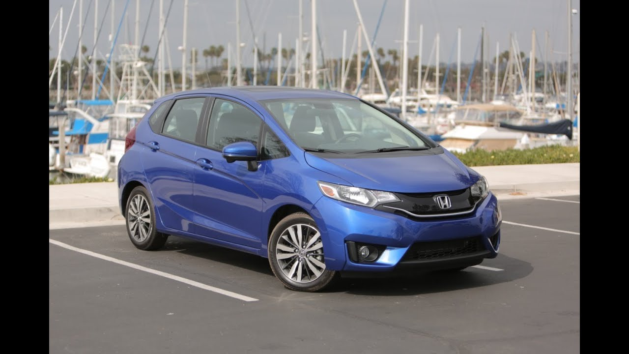 2015 Honda Fit Review - First Drive - YouTube