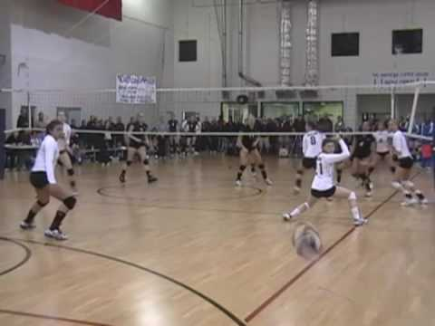 Lindsay Mortenson #8 - '09 So Cal JO Qualifier highlights Part 1 of 2