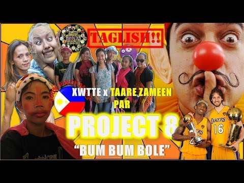 Taare Zameen Par movie -  Bum Bum Bole song (in Funny Taglish...