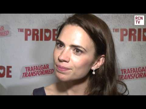 Hayley Atwell Interview The Pride Opening Night