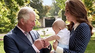 See the sweet moment Prince Louis and Prince Charles bond as proud Kate looks on
