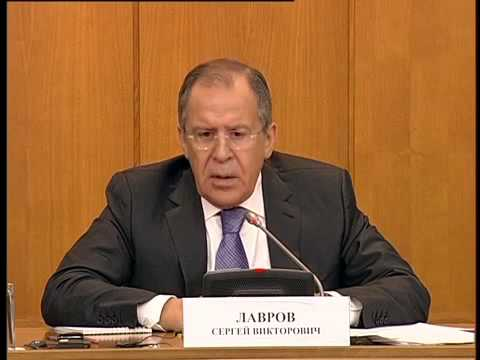 Annual press conference of Sergey Lavrov