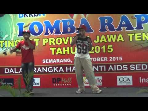 Lomba RAP BKKBN Jawa Tengah 31 Oktober 2015, Jepara