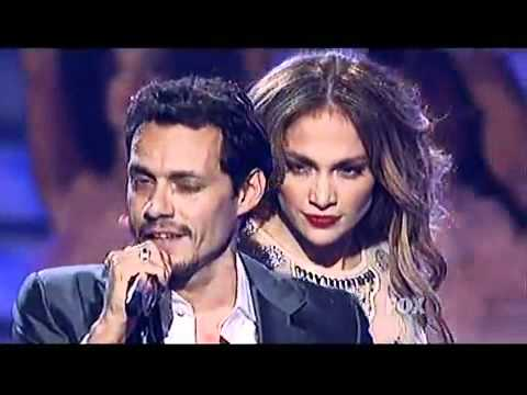 American Idol Finale Live Performance 2011, Marc Anthony ft J-Lo and Sheila E on timbales - Aguanile