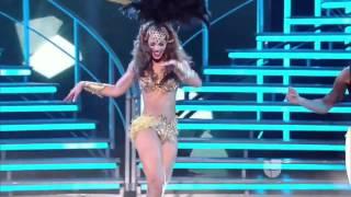 Karol scott le quita el puesto a Shakira as movi las caderas