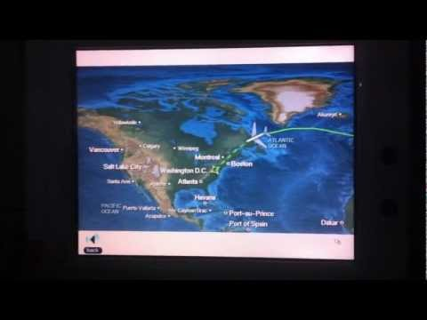 Air France A380 Inflight Entertainment (IFE)