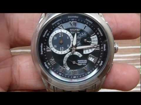Citizen Perpetual Calendar watch.