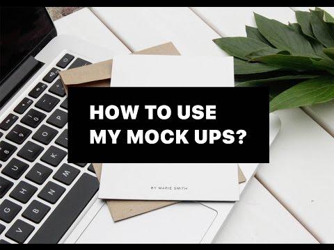 How to use my mock ups? Что такое мокапы и как их использовать?
