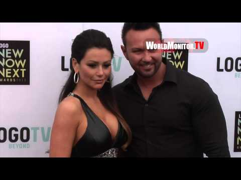Vinny Guadagnino, Jenni Jwoww, Roger Mathews arrive at Logo NewNowNext Awards