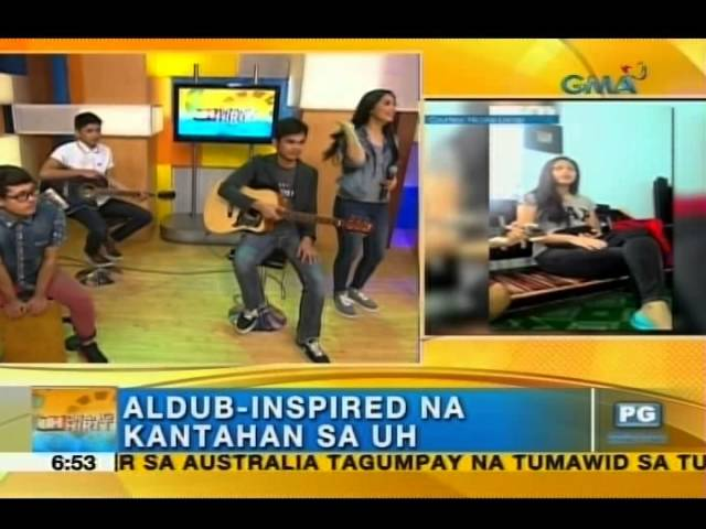 Certified #AlDub fans compose songs about their favorite love team | Unang Hirit