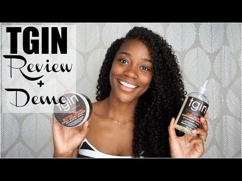 The Perfect Wash & Go? TGIN Review + Demo