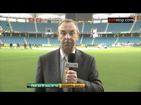 David Lloyd / Bumble and his views on saeed ajmal and teesra + his ACTION ! funny