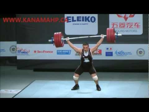 Ilya Ilyin 184Kg Snatch 100% Good Lift Loaders Mess up 2011 Worlds Image 1