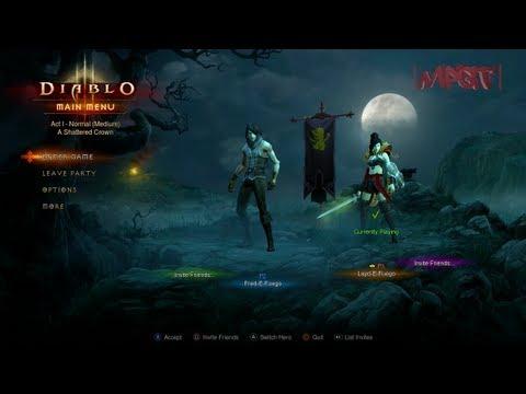 """Diablo 3 (PS3) 1st Impressions – Special Guest """"LaydEFuego"""" – 720p HD"""
