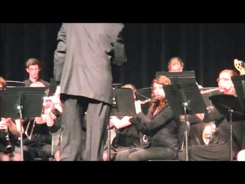 """Mystic Voyage"" by Chris M. Bernotas - North Medford High School Wind Ensemble"