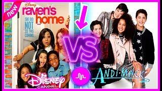 Raven's Home VS Andi Mack Musical.ly Battle | Top Disney Channel Stars Musically