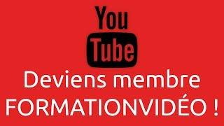 Deviens membre sur FormationVidéo !