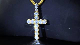 Single Row Diamond Cross