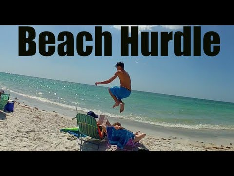 Beach Hurdle Prank Gone WRONG Original Full Version 2013